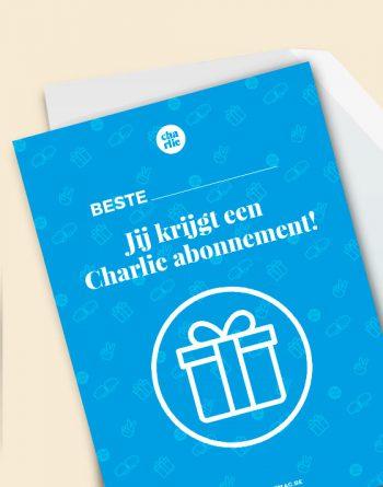 Charlie Cadeau Abonnement