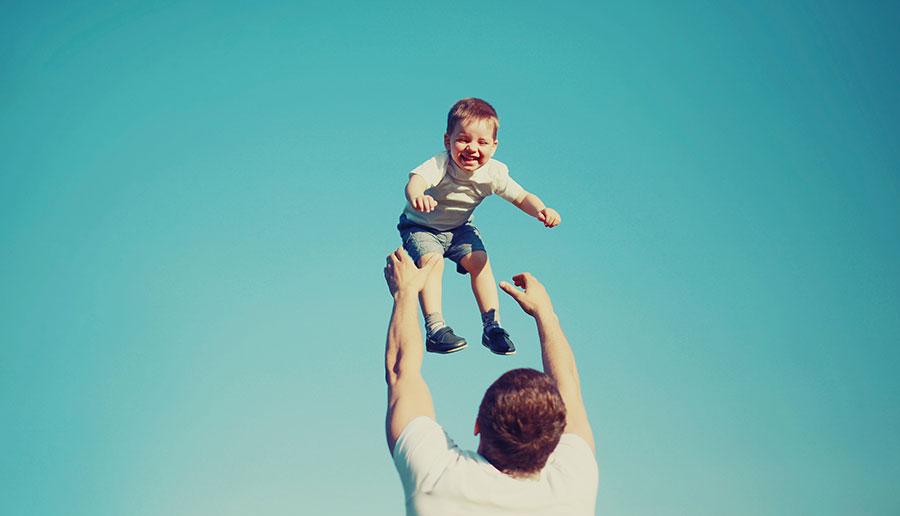 """""""Papa, ik hou steeds meer van jou"""""""
