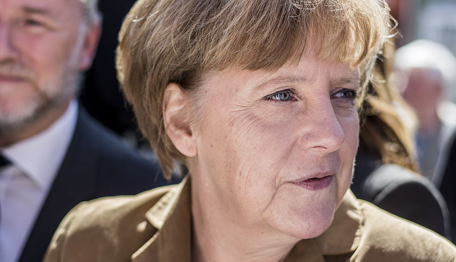 Teleurgesteld in Mutti Merkel