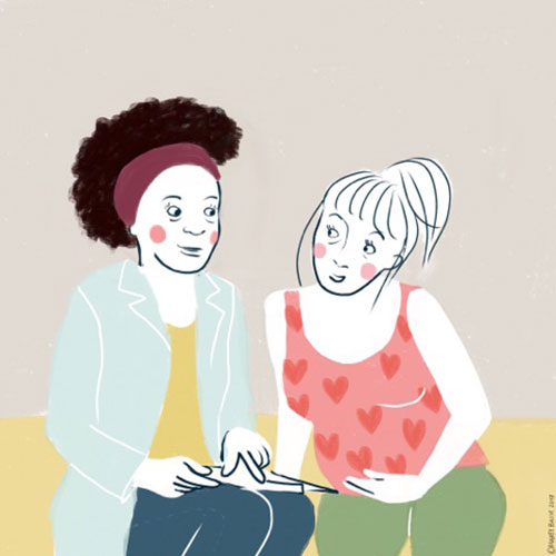 Wil mevrouw haar bevalling plannen?