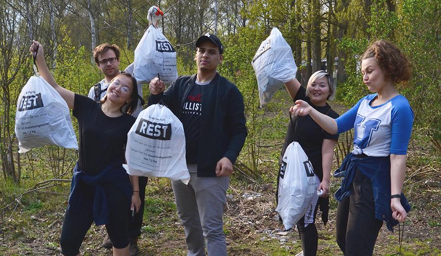 #Trashtag challenge: milieubewustwording meets sociale media